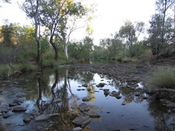 Creek in the Kimberley.